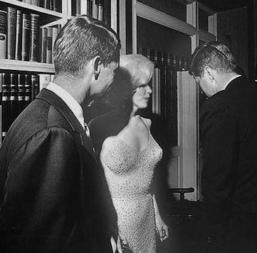 Marilyn-y-los-Kennedy