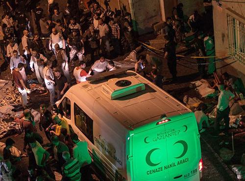 atentado boda Gaziantep