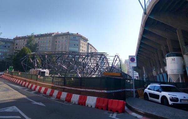 Obras en el Estadio de Balaídos en Vigo ARCHIVO