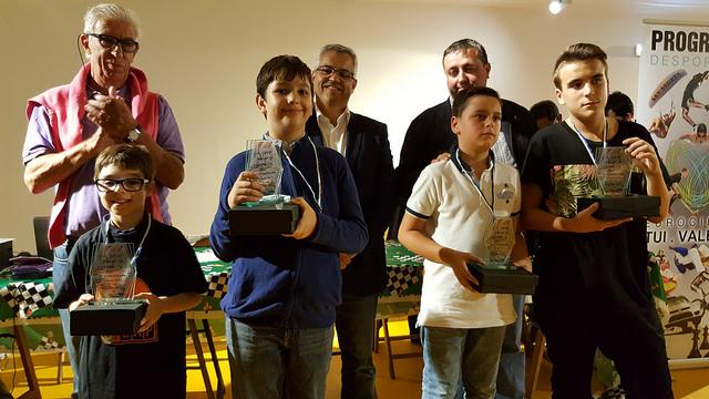 Algunos de los ganadores del certamen