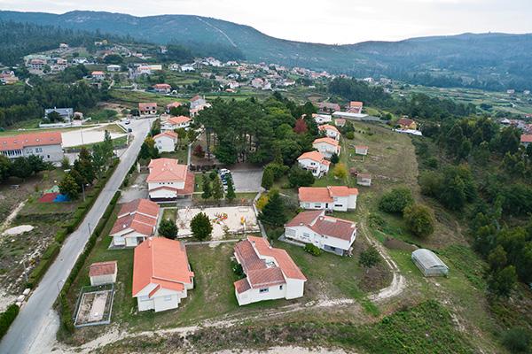 Las instalaciones de Aldeas Infantiles en Redondela