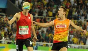 Descárrega-Blanquino, oro en 400 T11, JJPP Rio 2016