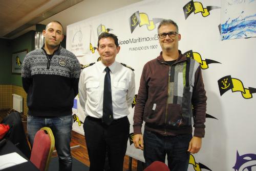 De izquierda a derecha, Álvaro Espejo, José María Suárez-Llanos y Javier Losada