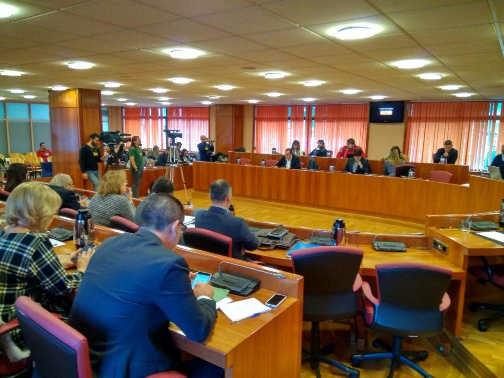 El Pleno está celebrándose en este momento en el Concello