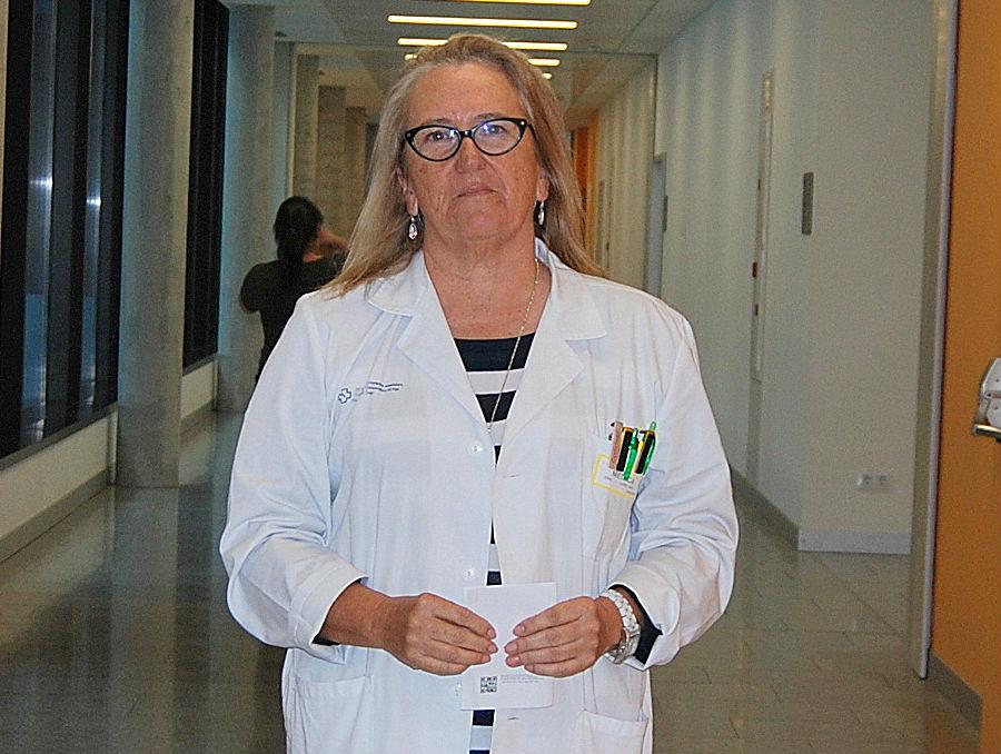 La doctora Elena López-Díez