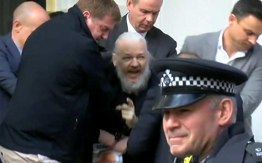 Arresto de Julian Assange Twitter