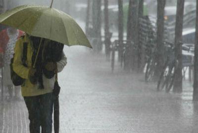 Ourense e Lugo, en 'alerta laranxa' por choiva, treboadas e ventos fortes