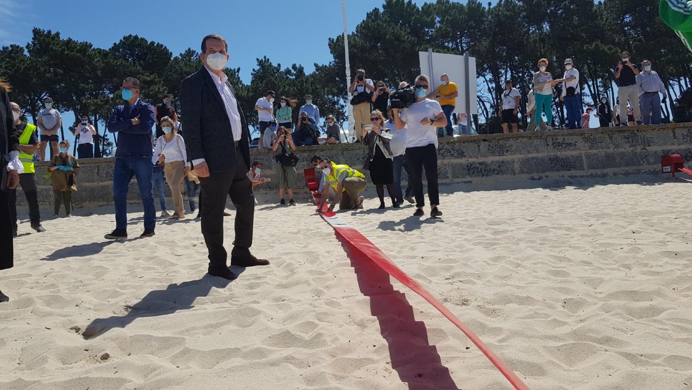 Abel Caballero alcalde Vigo Playa