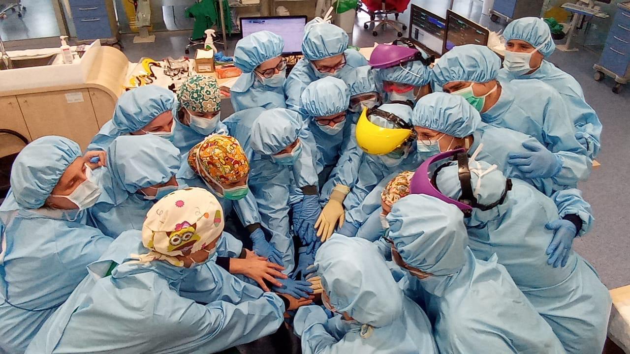 Coronavirus enfermeras Vigo