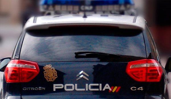 Coche de la Policía Nacional Vigo