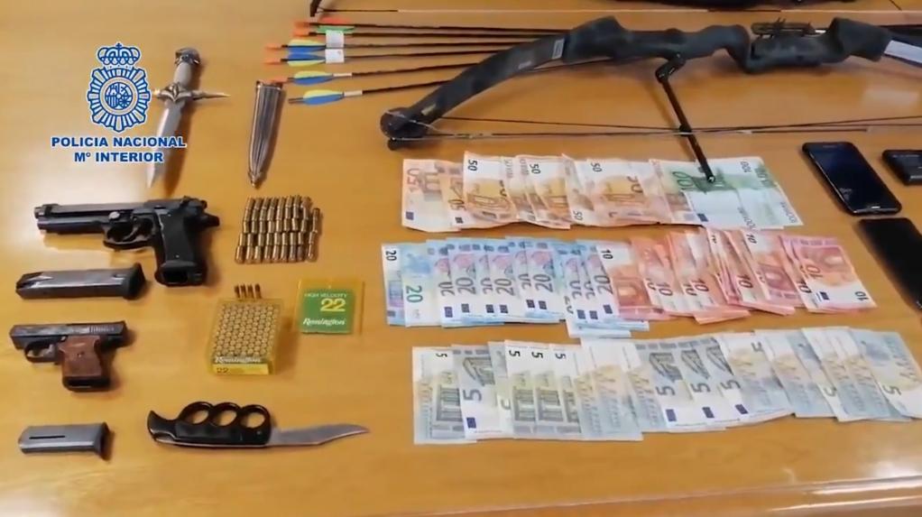 Operación Neón tráfico drogas