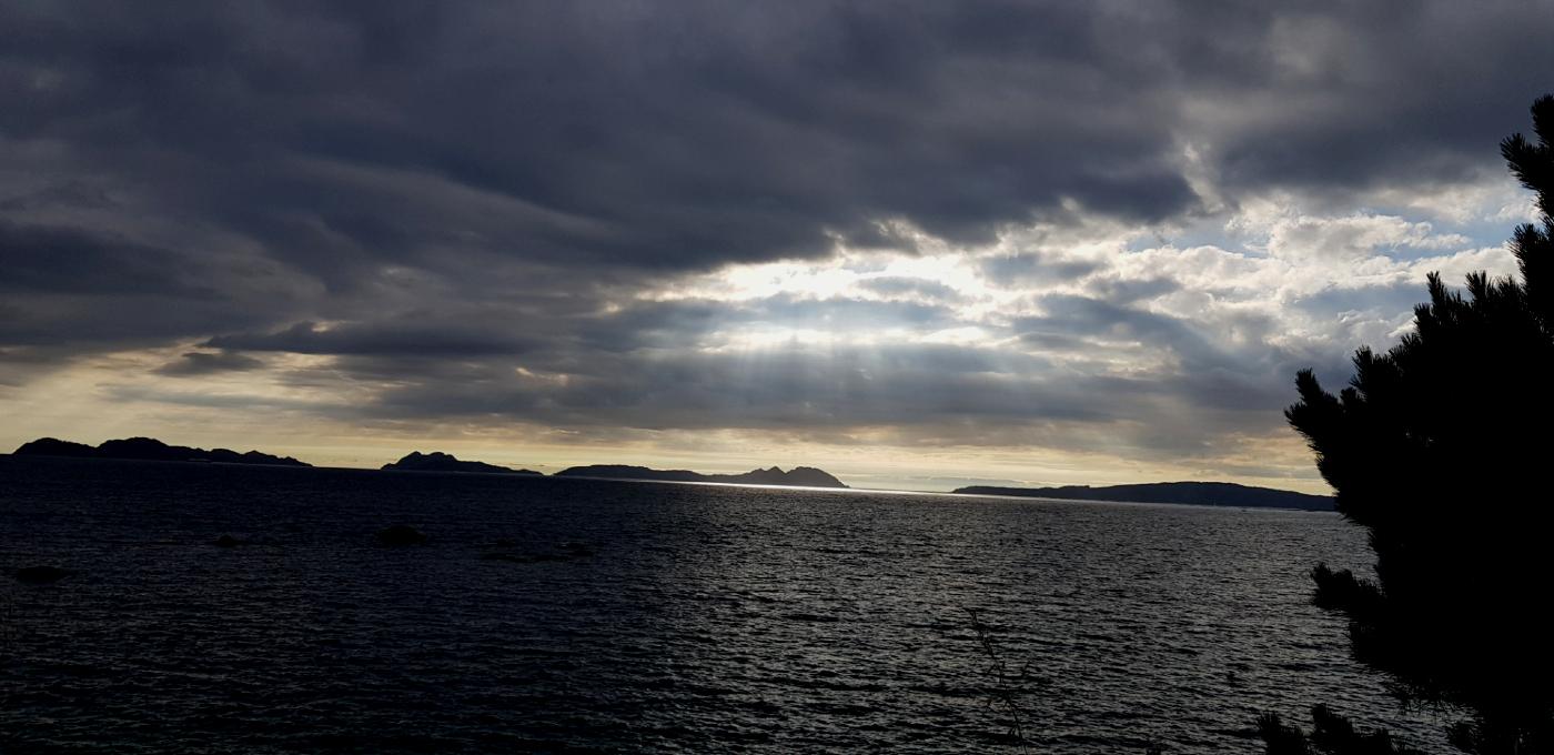 Mal tiempo en Vigo