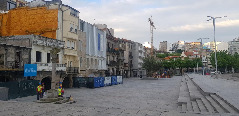 Obras Casco Vello de Vigo