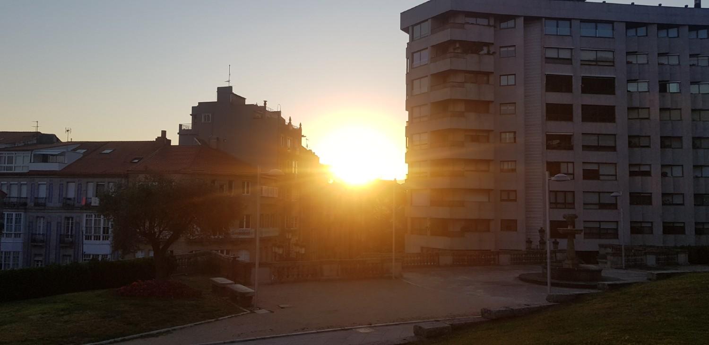 Sol en Vigo junio 2020