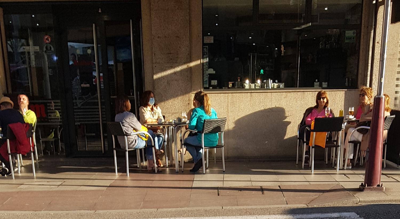 Terraza Vigo desconfinamiento