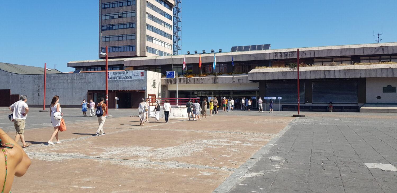 Votando en Vigo