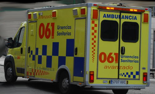 Cuatro heridos accidente A-55