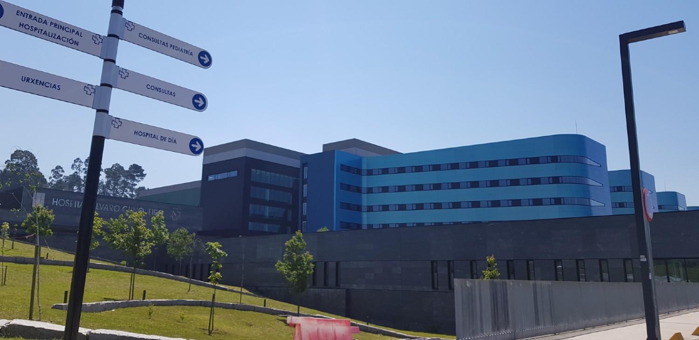 Hospital Cunqueiro en Vigo
