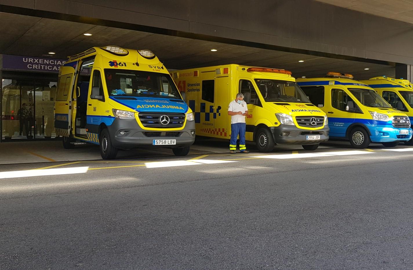 Entrada Urgencias Hospital Álvaro Cunqueiro