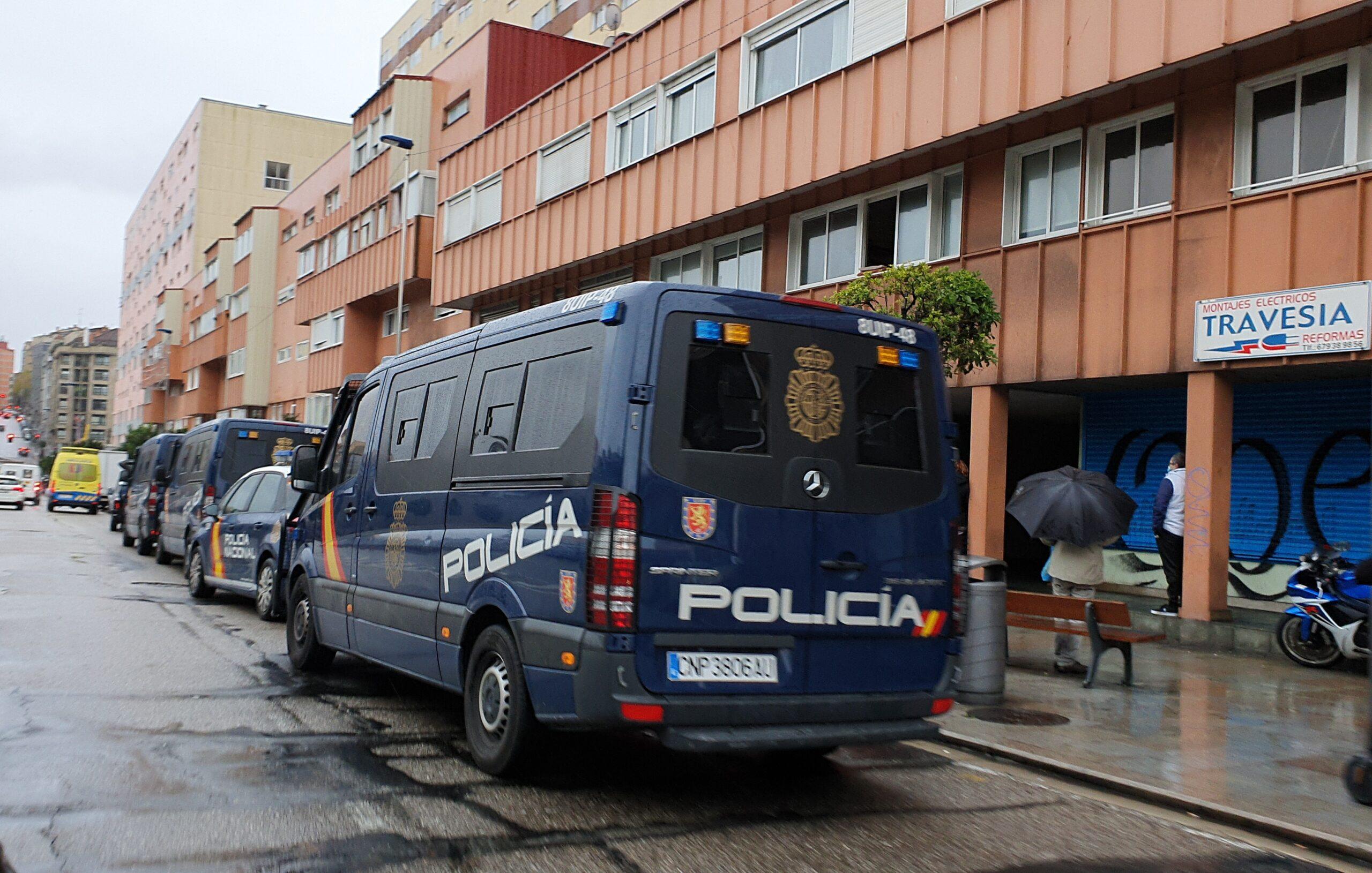 Despliegue policial este jueves en Travesía