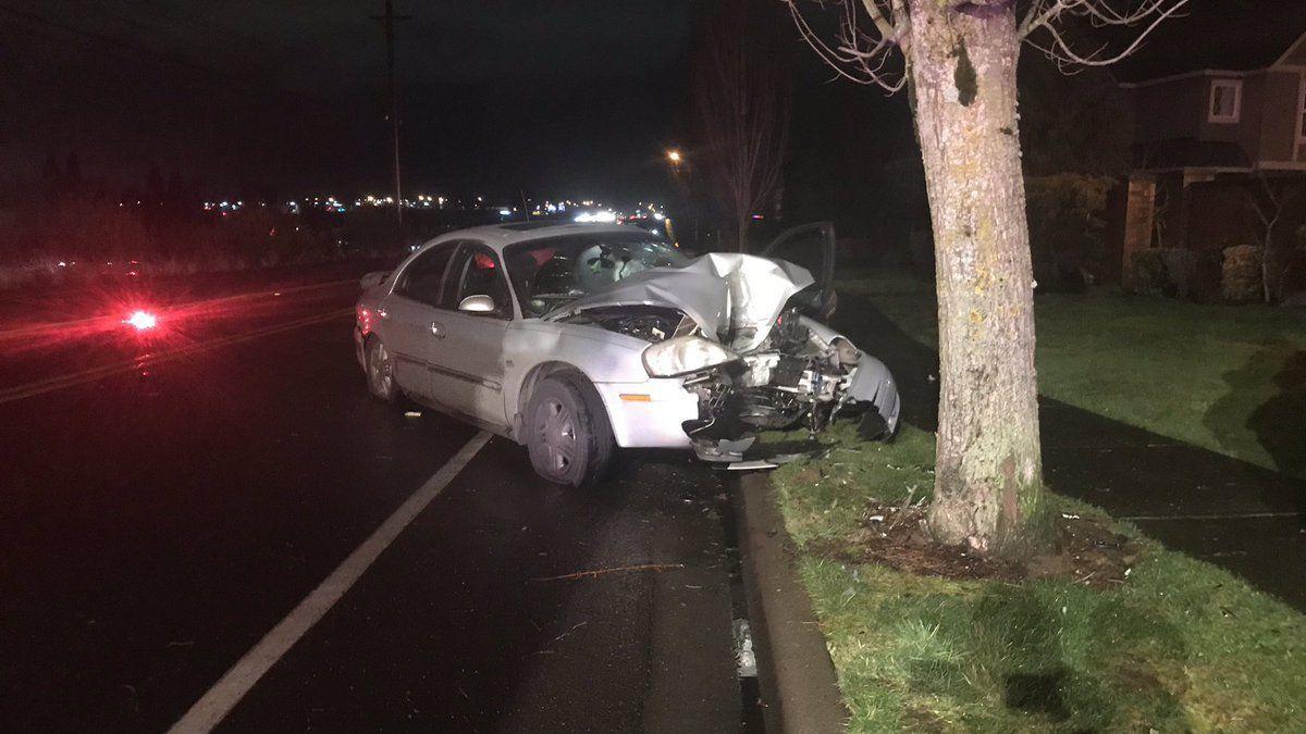 Accidente de tráfico en una carretera de Galicia