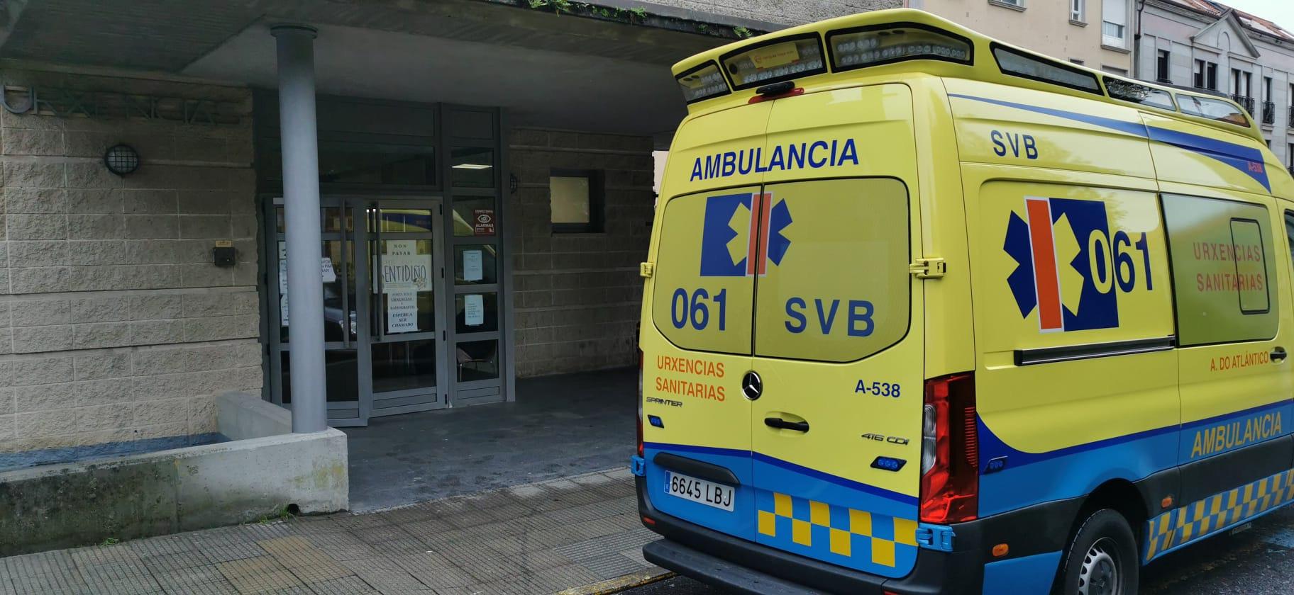 O 061 asistiu a 39 feridos en accidentes de tráfico en Galicia