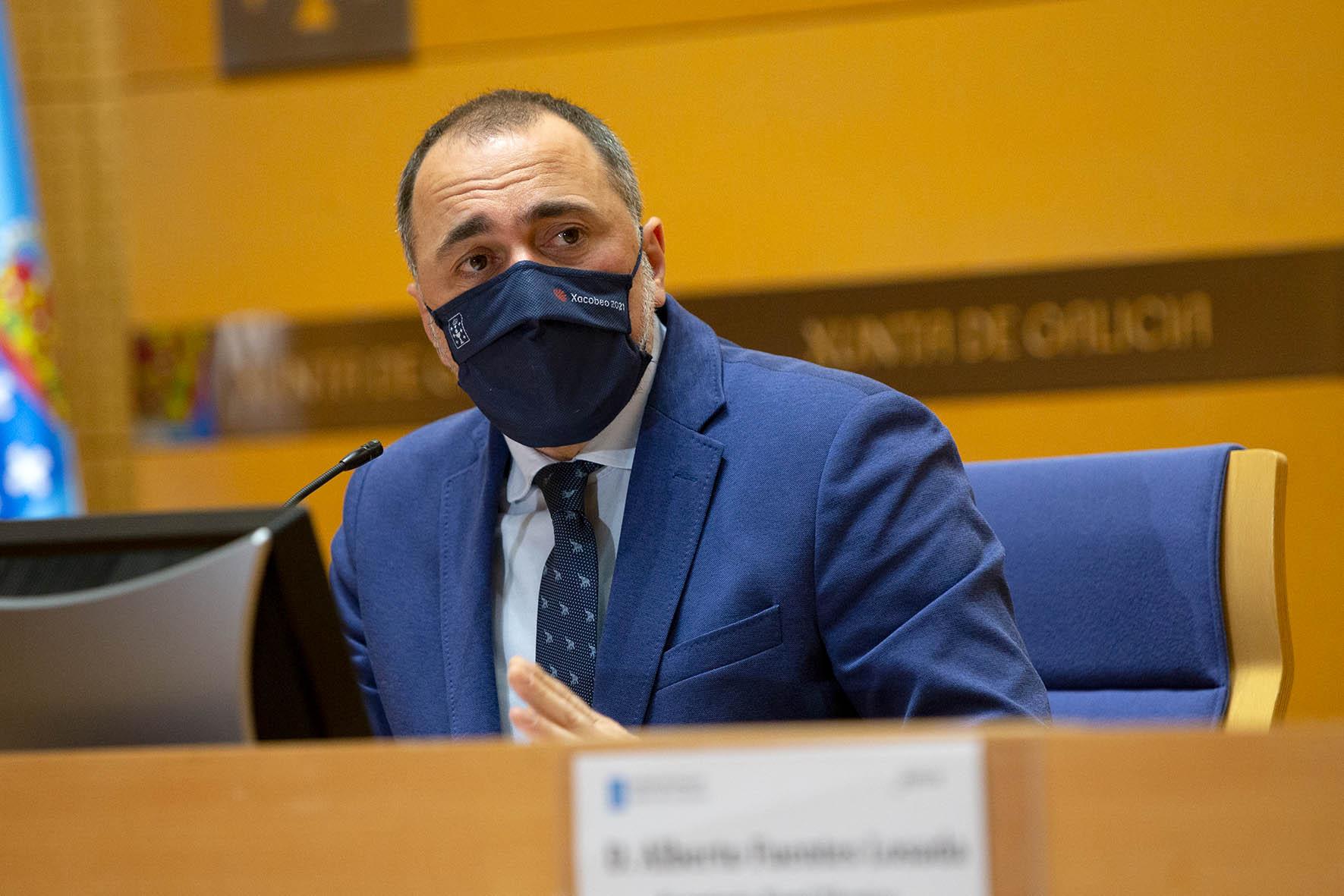 Julio García Comesaña conselleiro de Sanidade
