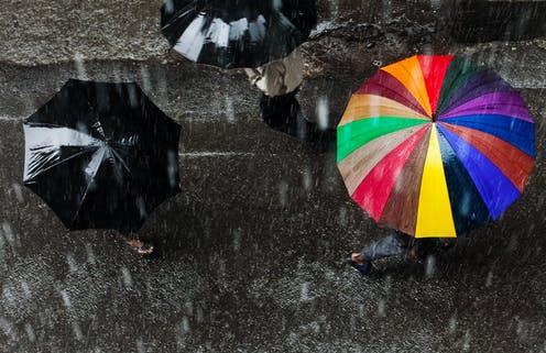 Lluvia en Vigo