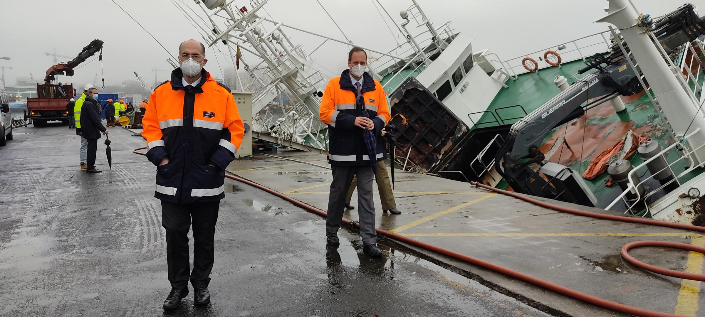 Reflotamiento arrastrero Baffin Bay Vigo