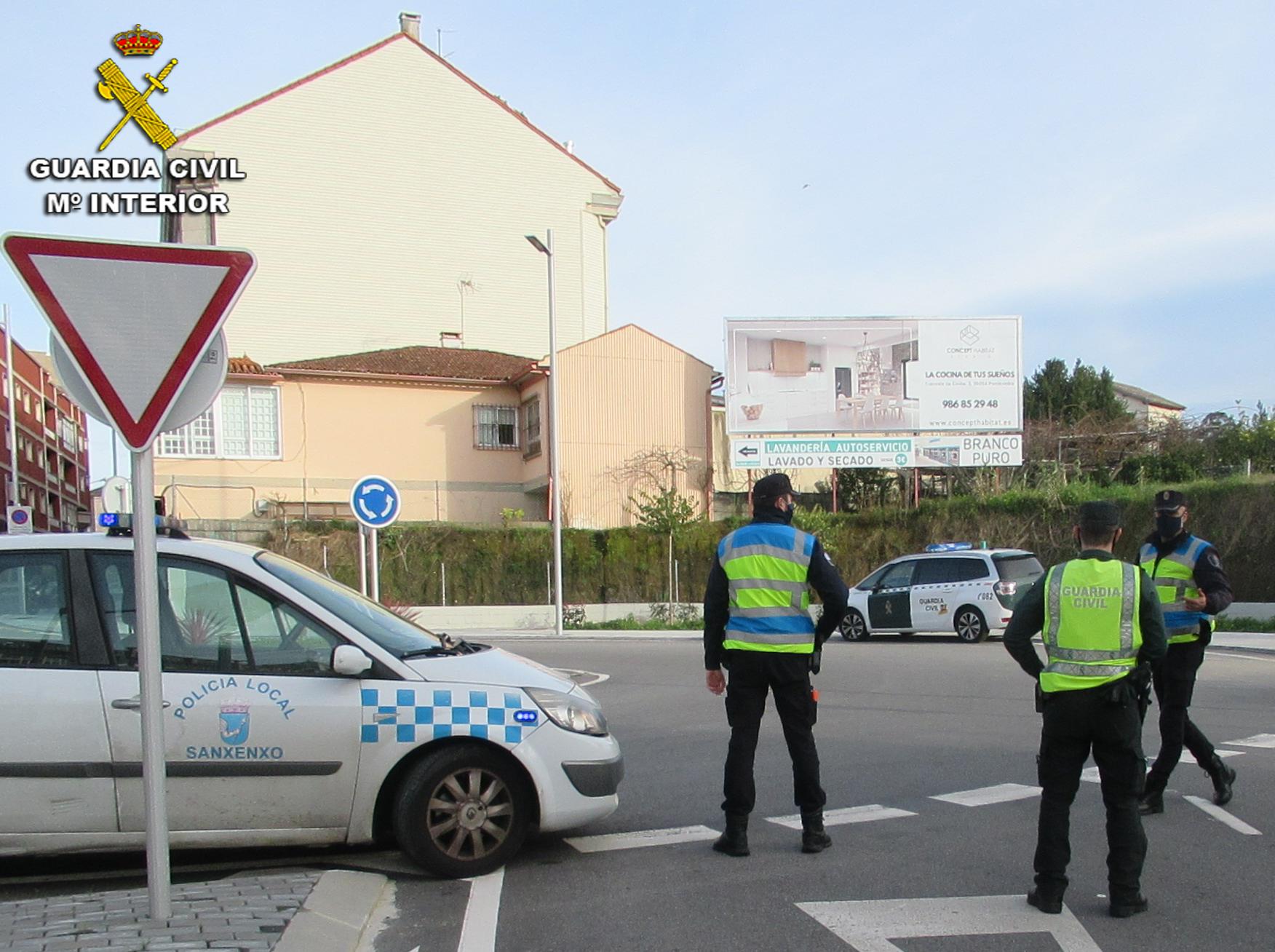 Guardia Civil detenidos Portonovo