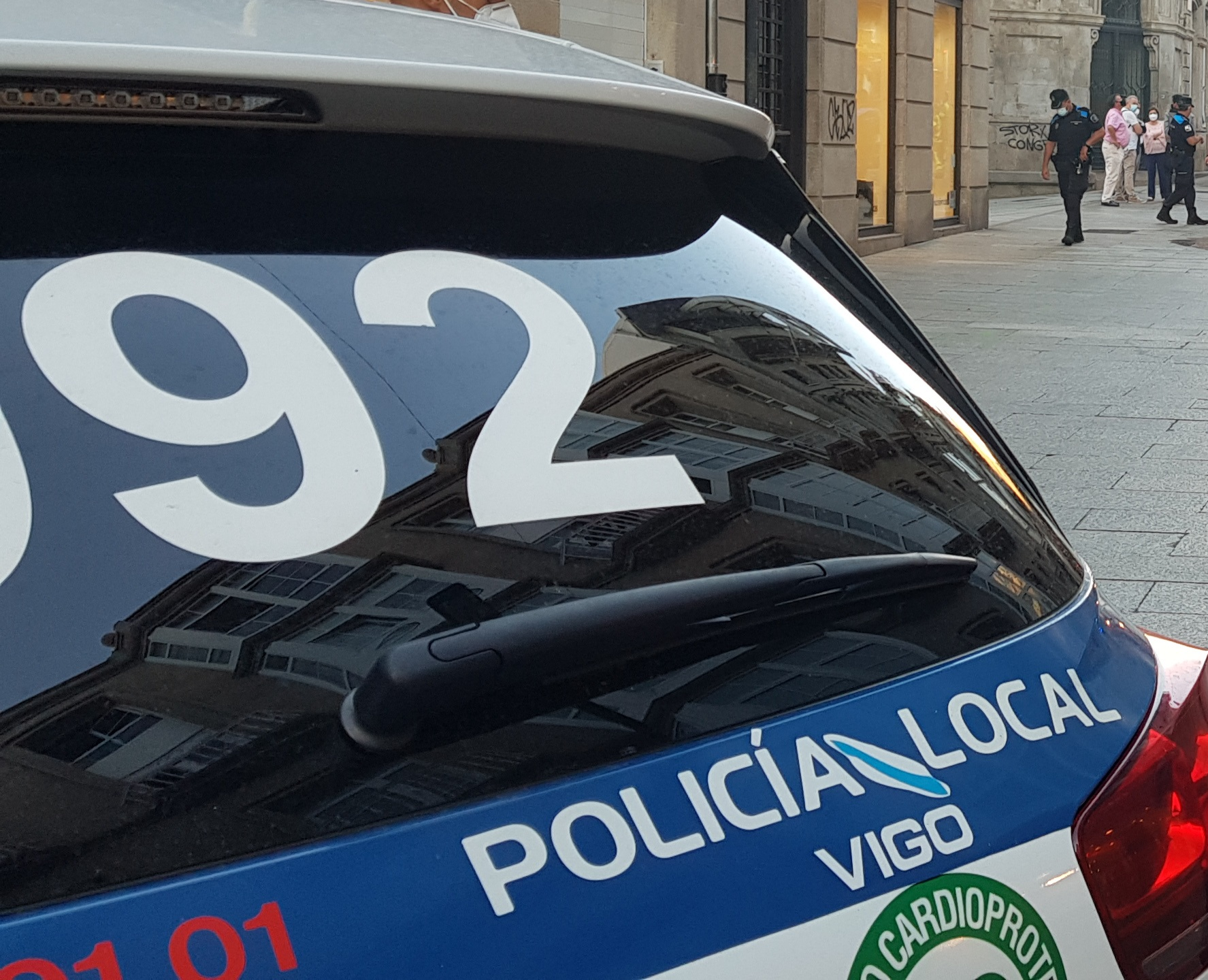 Policía Local de Vigo/ARCHIVO
