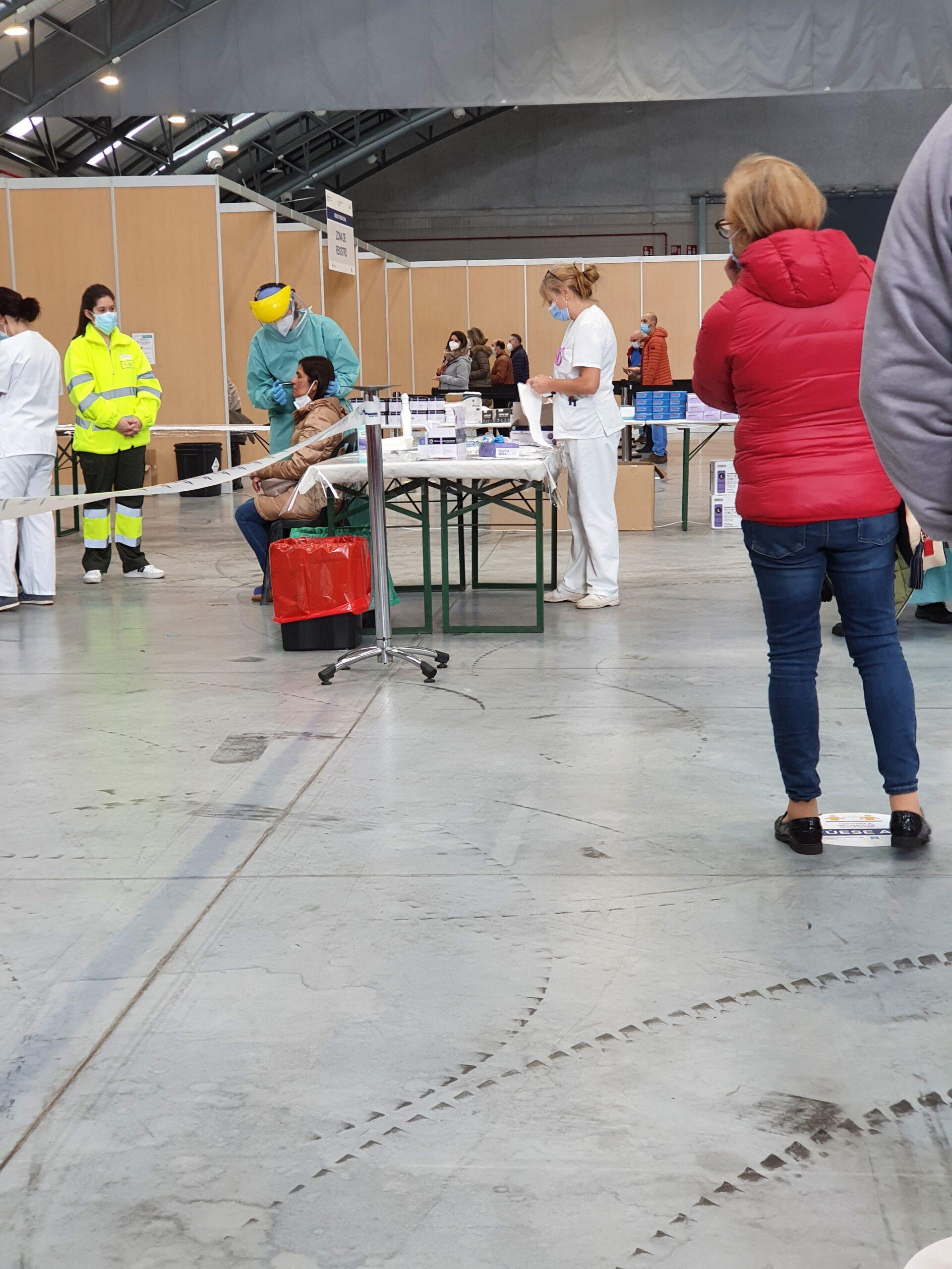 Cribado COVID Vigo enero-febrero 2021/vigoalminuto.com