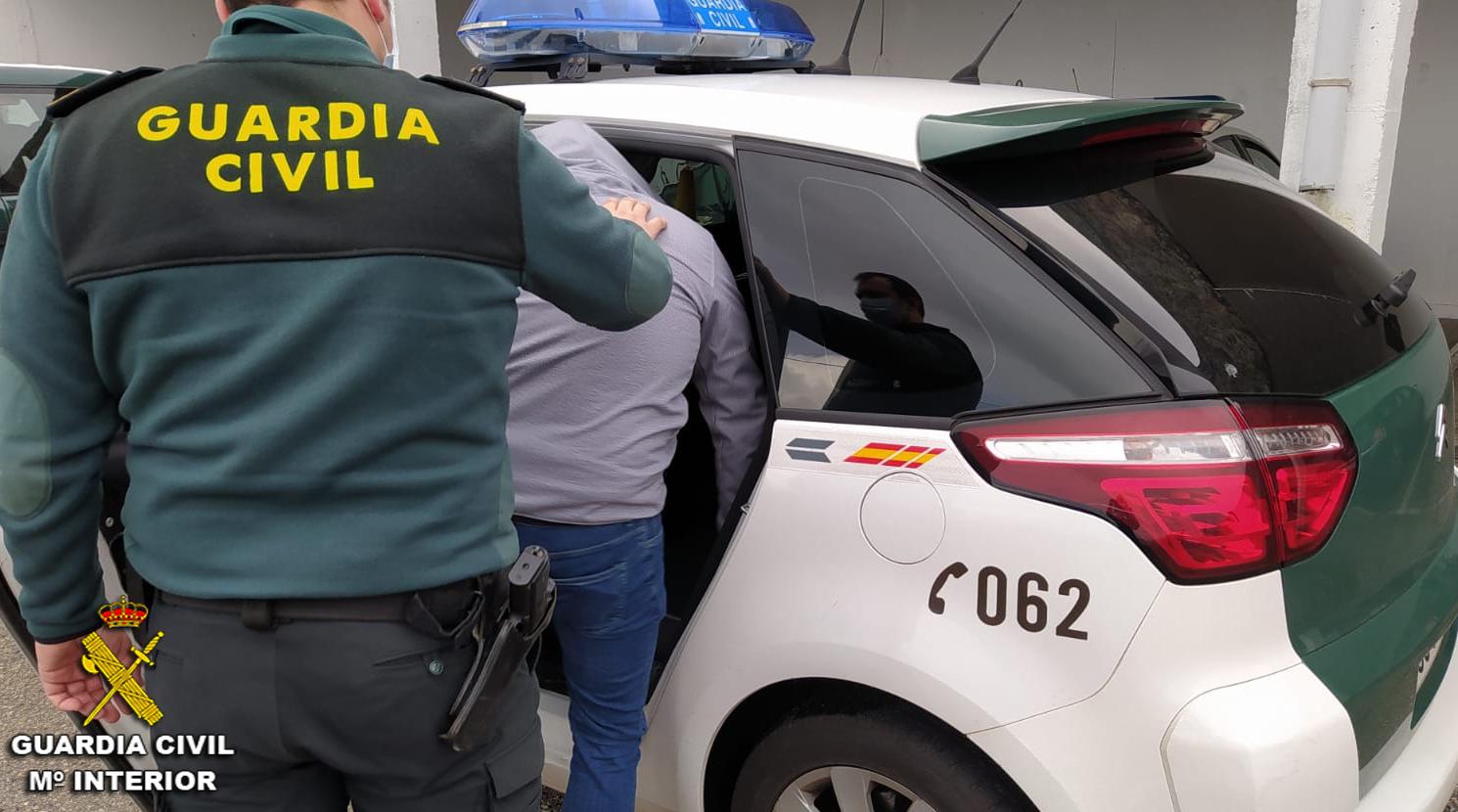 Guardia Civil Pontevedra detenido