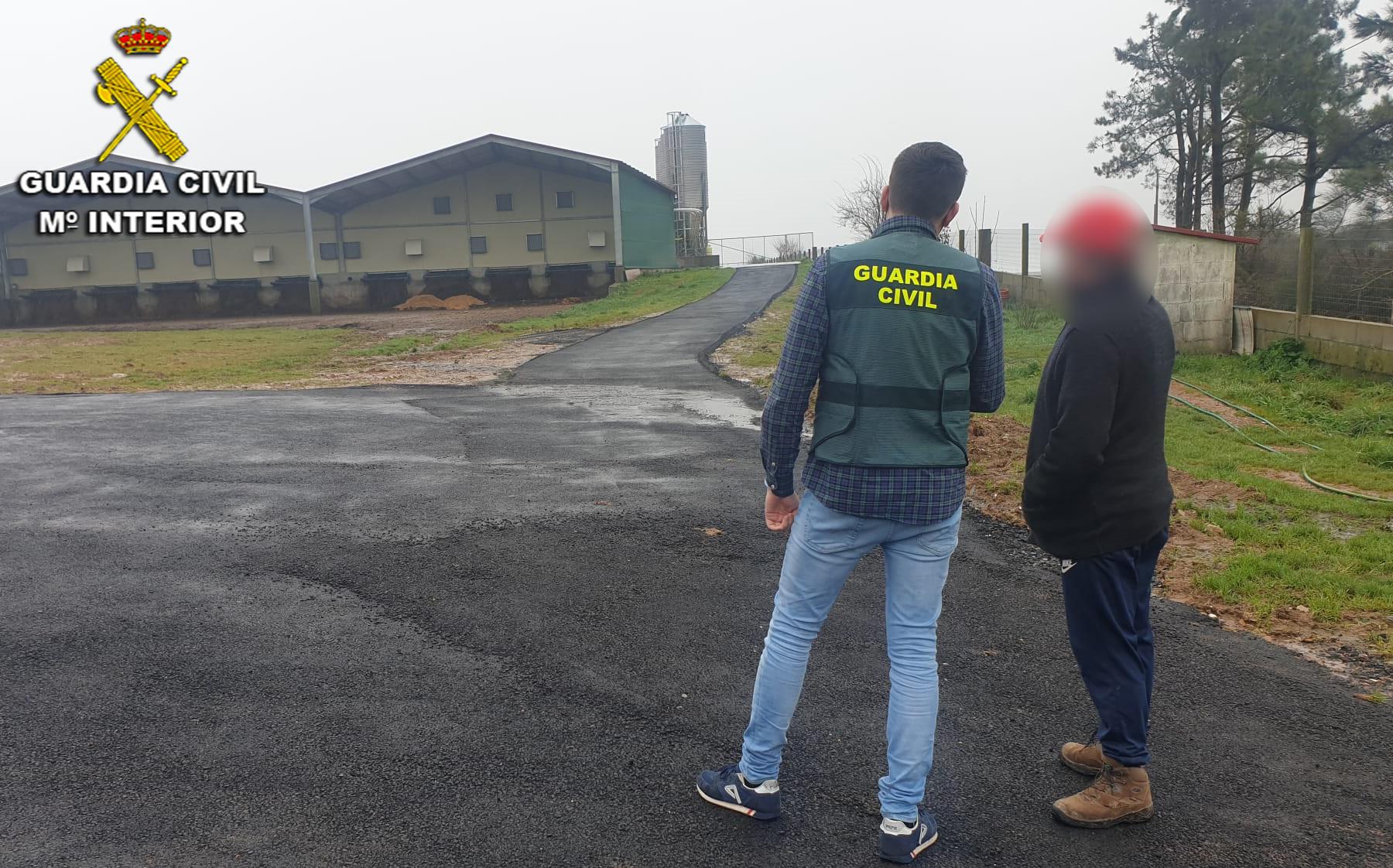 Banda especializada en el 'timo del asfalto' /Guardia Civil