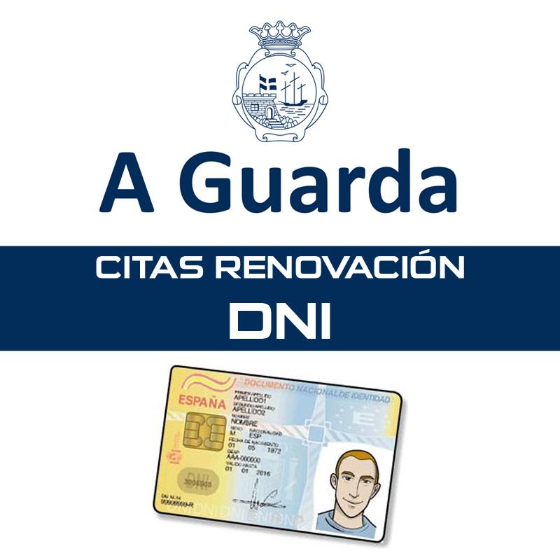 Concello A Guarda citas renovación DNI
