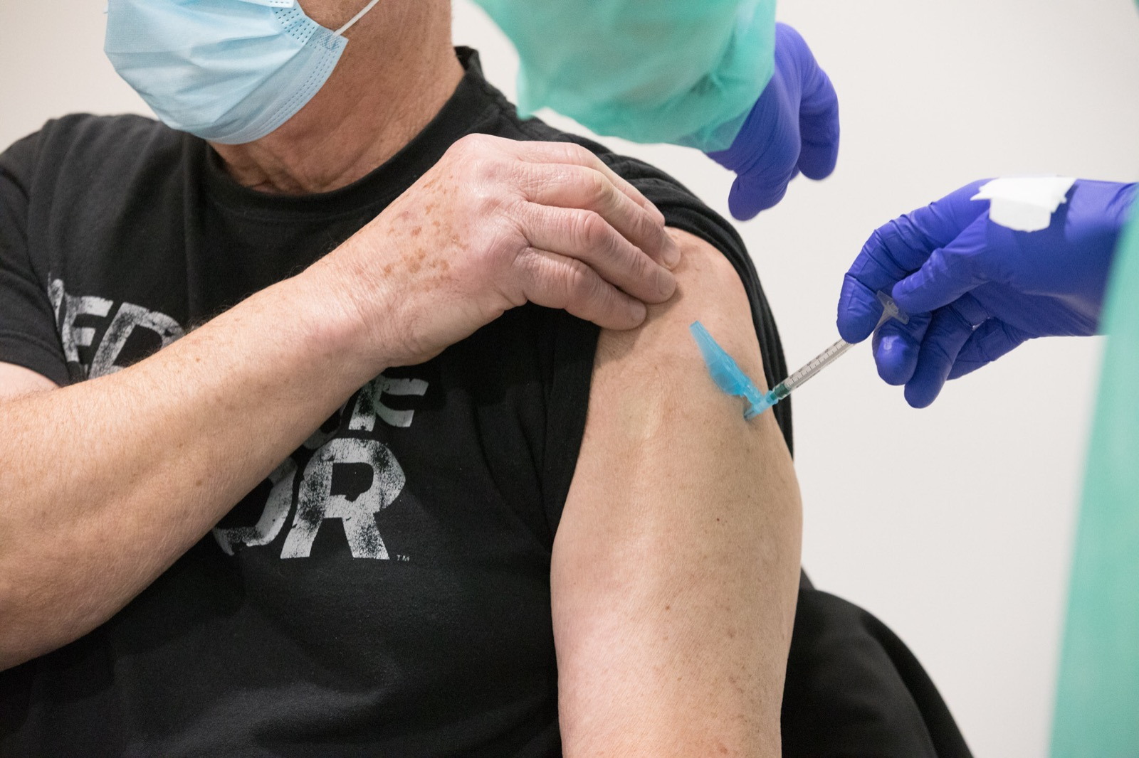 Vacinación maiores 80 anos
