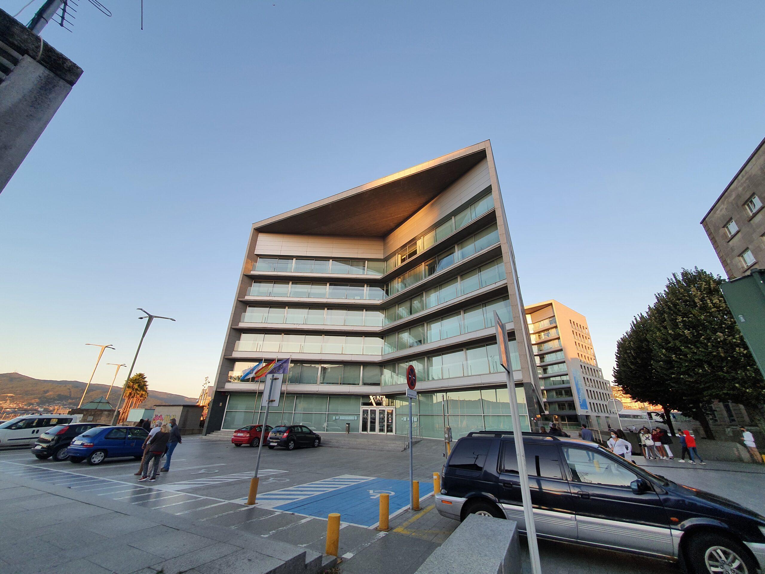 Edificio de la Xunta de Galicia en Vigo