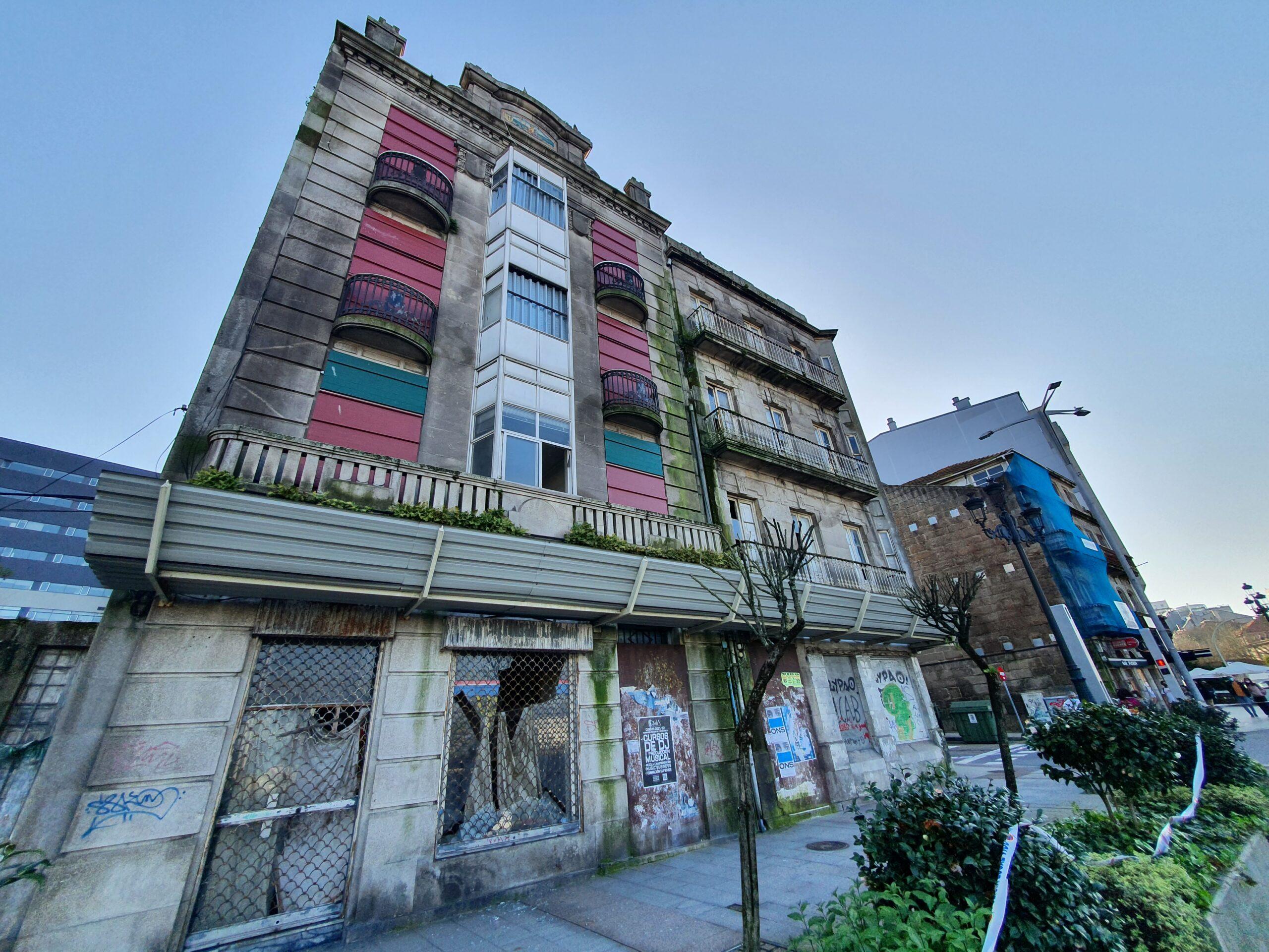 Inmueble en ruinas en el centro de Vigo/vigoalminuto.com