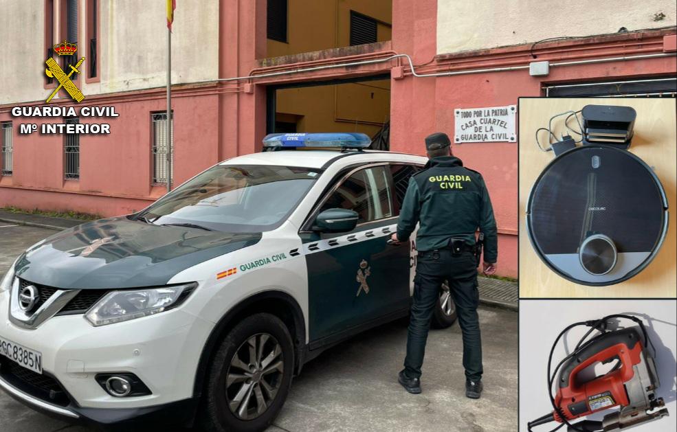 Guardia Civil Robos en A guarda