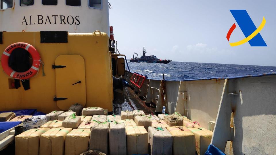 El pesquero interceptado por la Agencia Tributaria