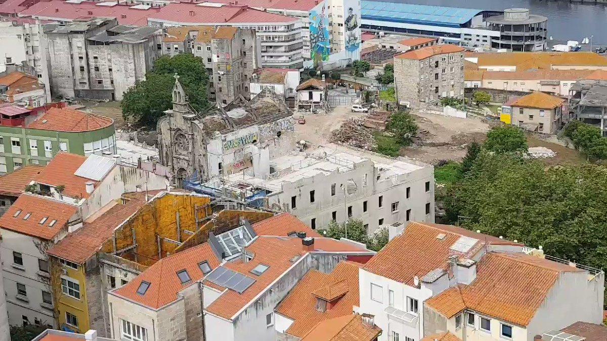 Barrio do Cura en Vigo