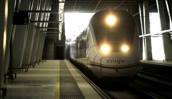 Vigo:Estación del tren de Urzáiz