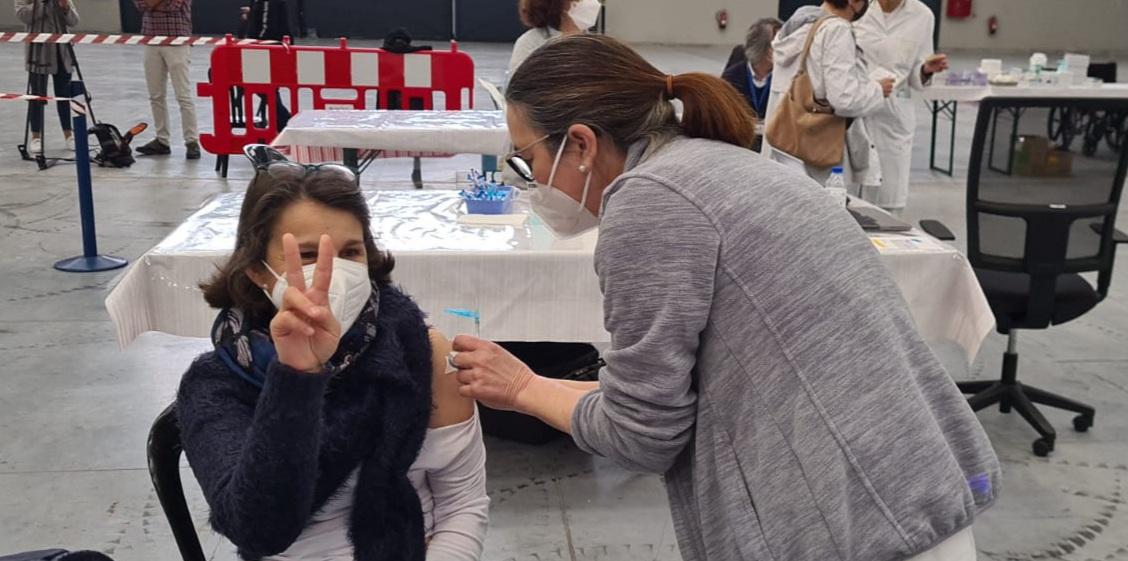 Vacuna Astra Zeneca en Vigo