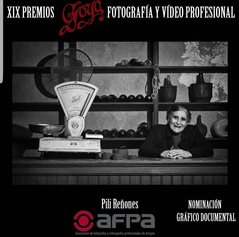 Los Premios Goya nominan a la fotógrafa Pily Reñones