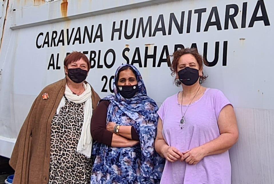 A Caravana Solidaria co Sahara