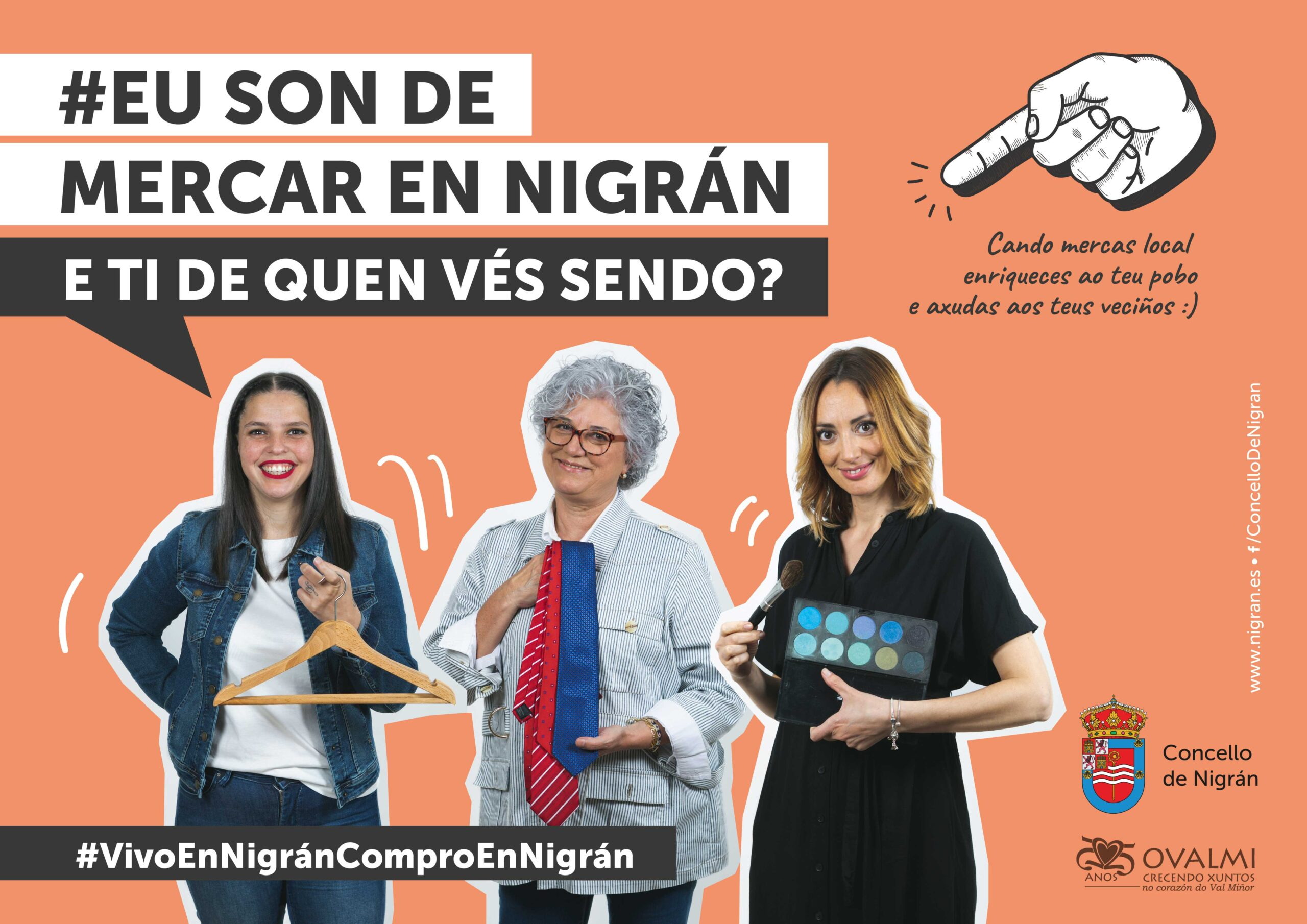 Nigrán estrea campaña de comercio