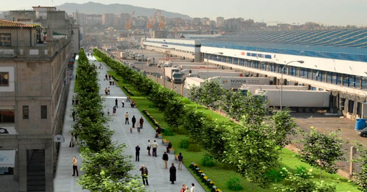 Proyecto Paseo Peatonal Beiramar