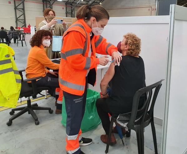 Vacunación AstraZeneca en Vigo