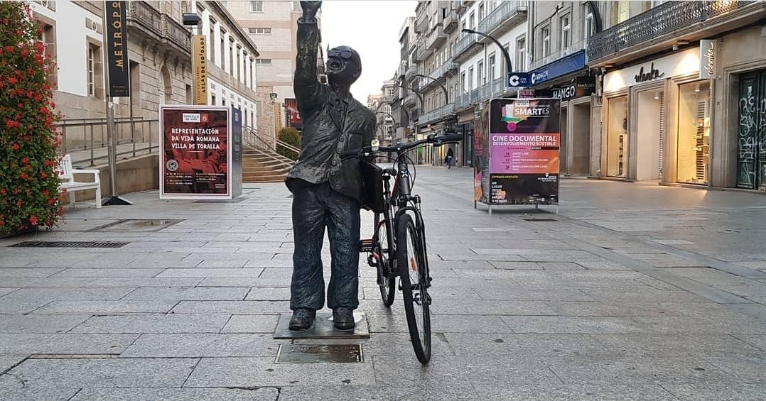 Pedaleo por la Tierra en Vigo/vigoalminuto.com