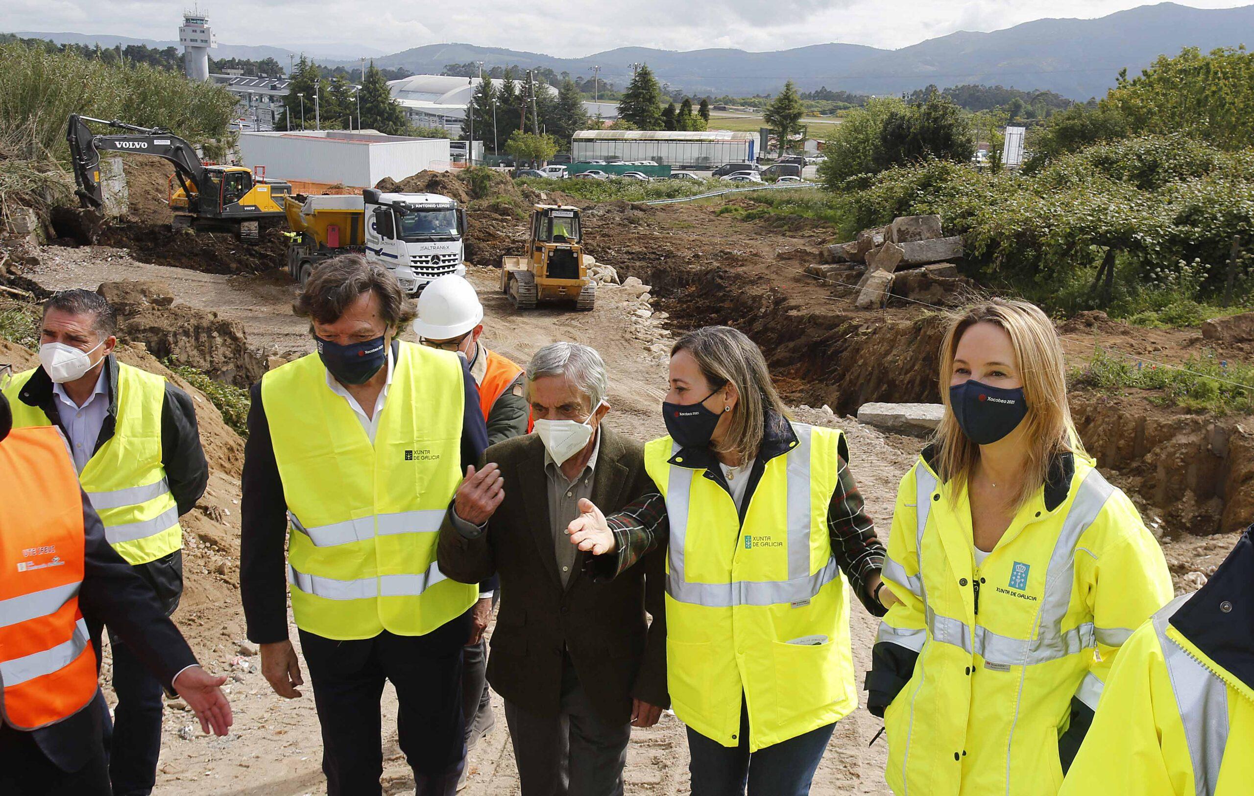 La conselleira de Infraestruturas hoy en Vigo